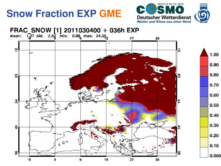 Snow Fraction EXP