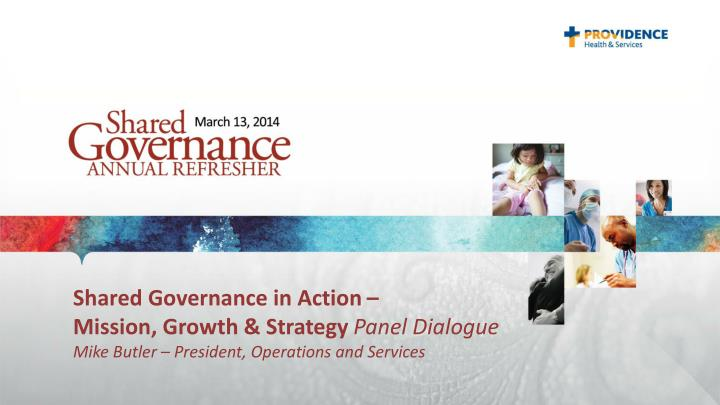 Shared Governance in Action –