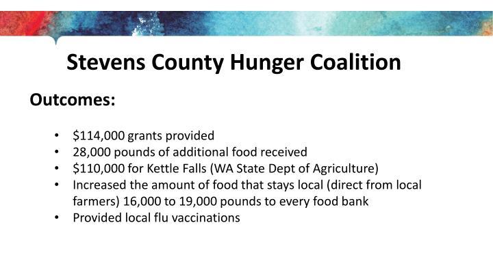 Stevens County Hunger Coalition