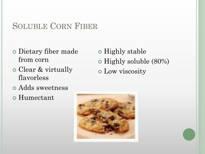 Soluble Corn Fiber