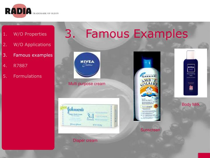 3.Famous Examples