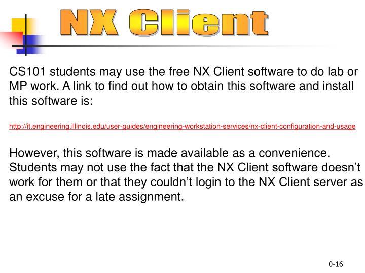 NX Client