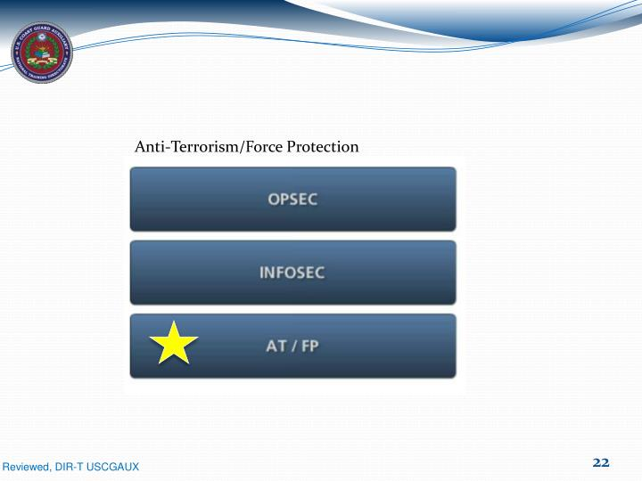 Anti-Terrorism/Force Protection