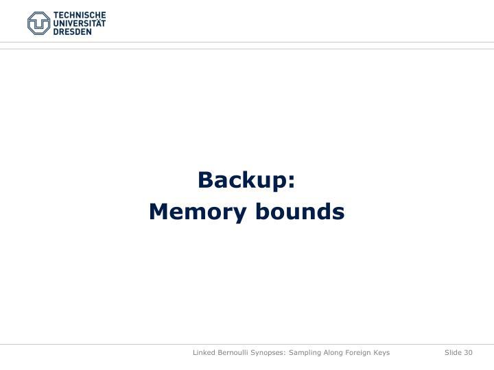 Backup: