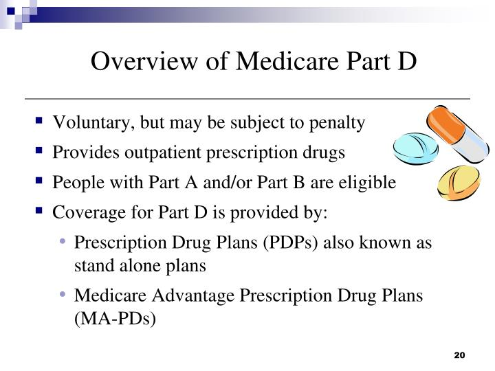 Overview of Medicare Part D