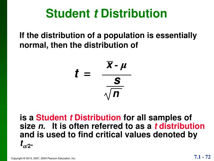If the distribution of a population is essentially normal, then the distribution of