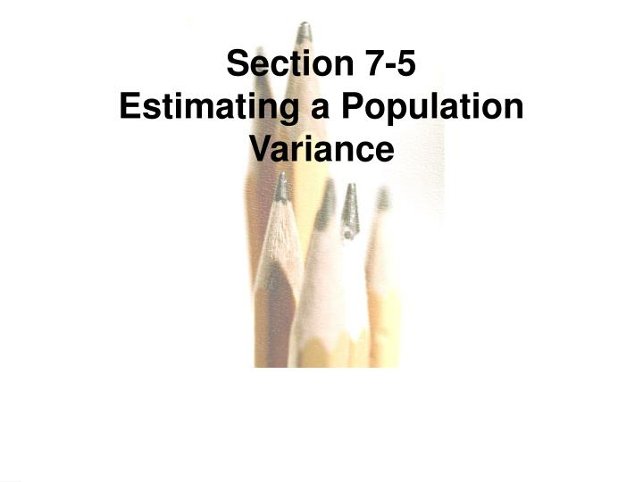 Section 7-5