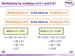 multiplying by multiples of 0 1 and 0 01