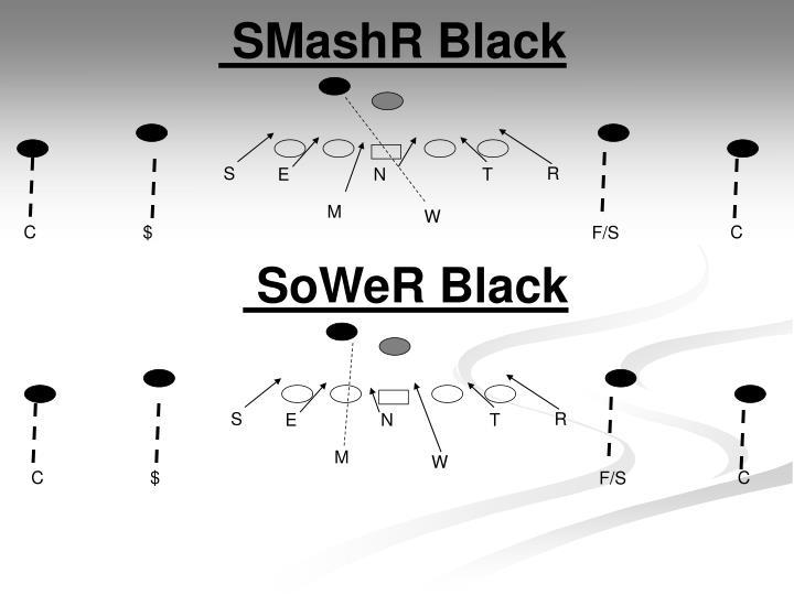 SMashR Black