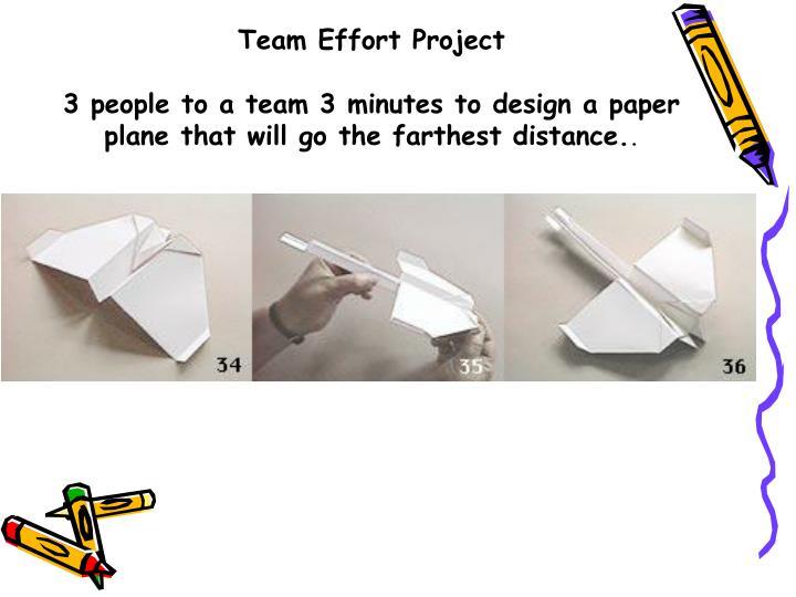 Team Effort Project