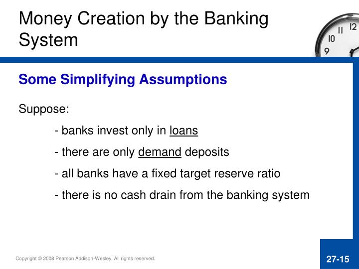 Money Creation by the Banking
