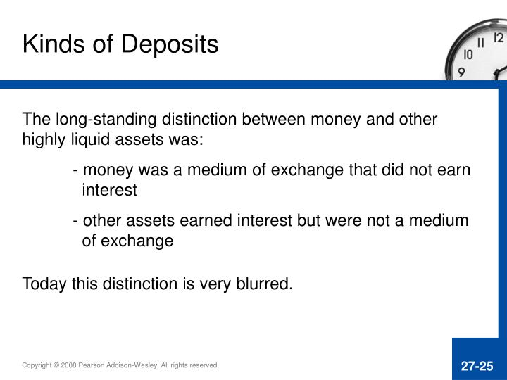 Kinds of Deposits