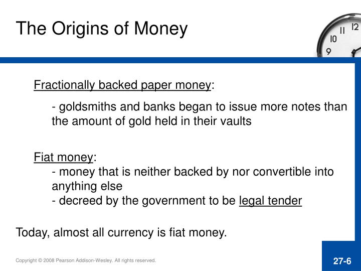 The Origins of Money