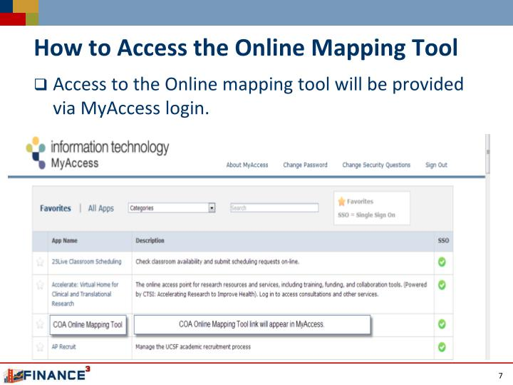 How to Access the Online Mapping Tool