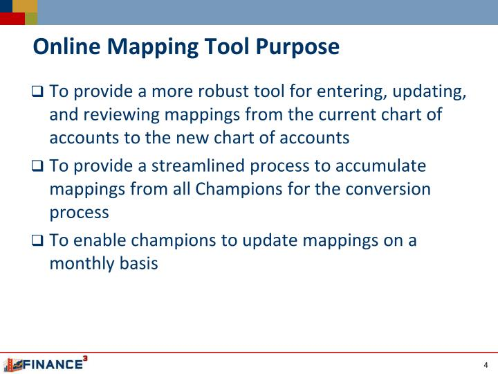 Online Mapping Tool Purpose