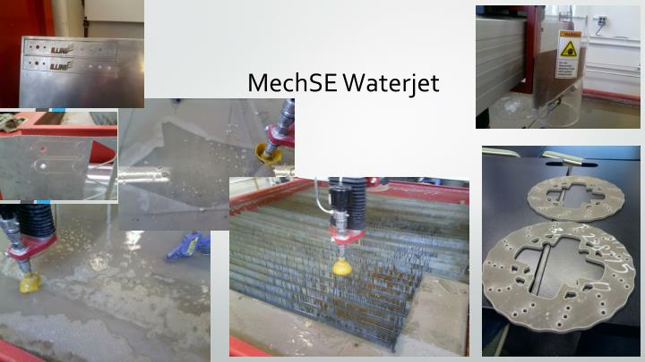 Mechse waterjet