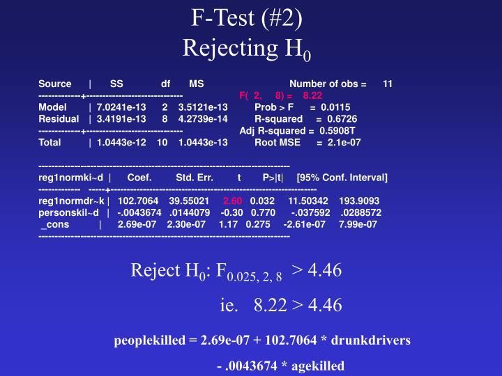 F-Test (#2)