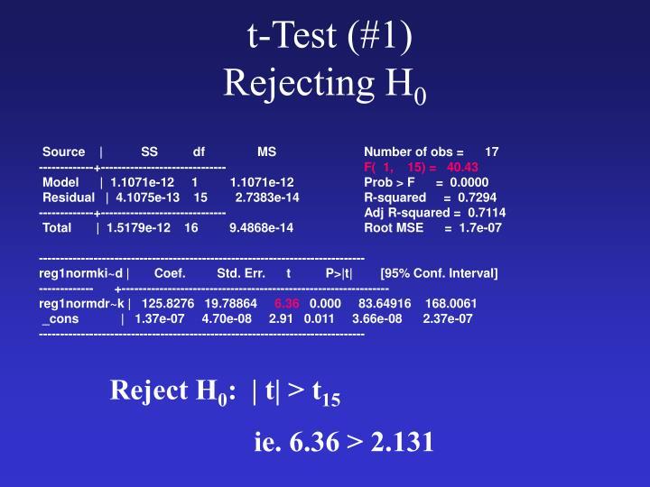 t-Test (#1)