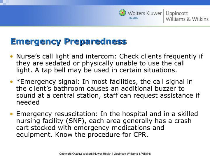 Emergency Preparedness