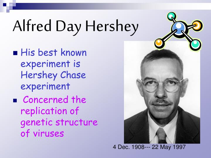 Alfred day hershey