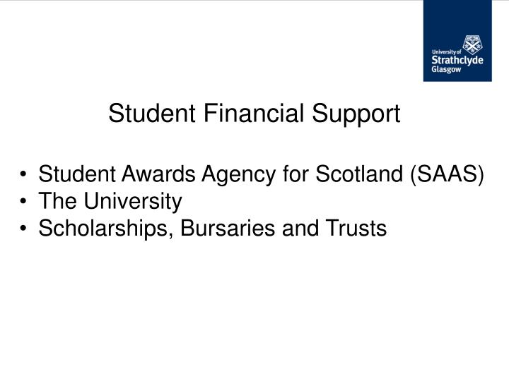 Student Financial Support
