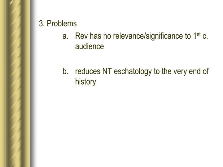 3. Problems