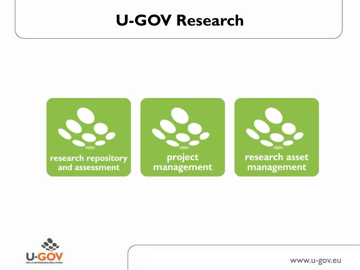 U-GOV Research