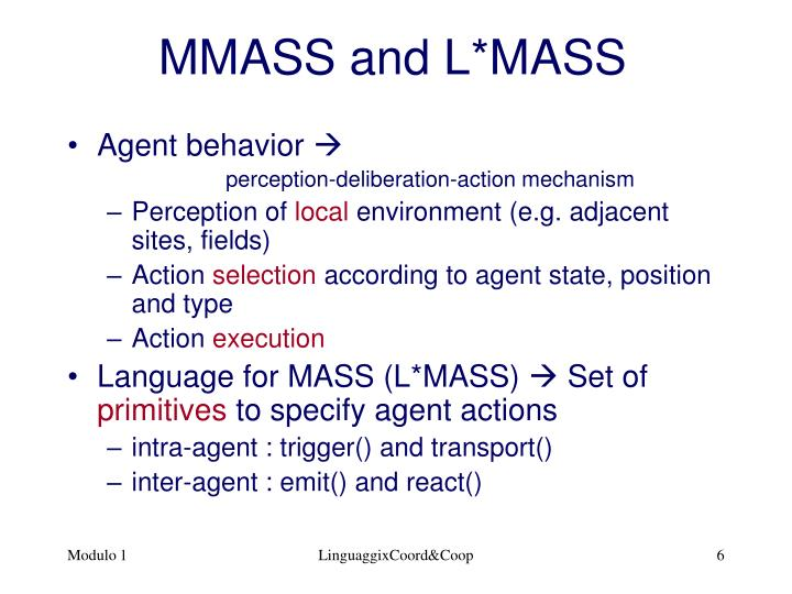 MMASS and L*MASS