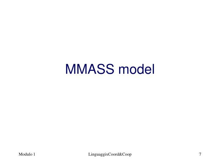 MMASS model