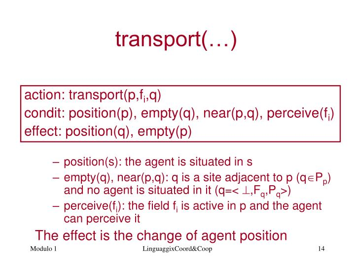 position(s): the agent is situated in s