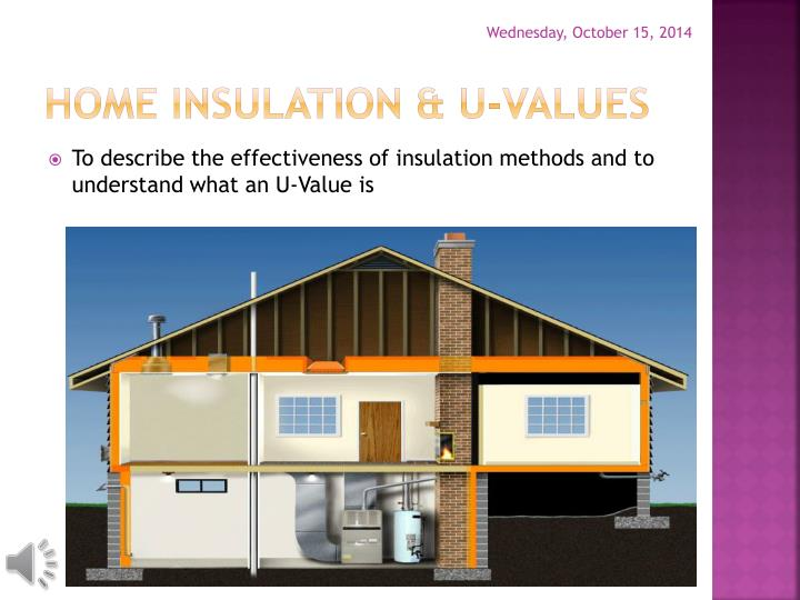 Home insulation u values1