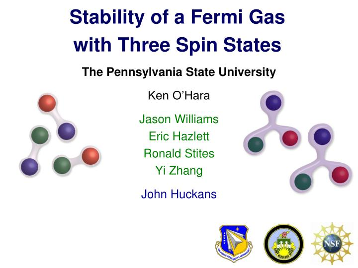 Stability of a Fermi Gas
