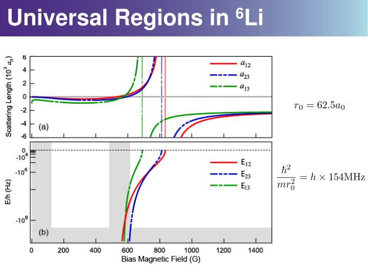 Universal Regions in