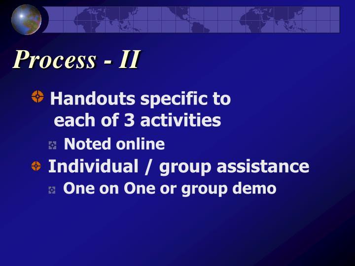Process - II