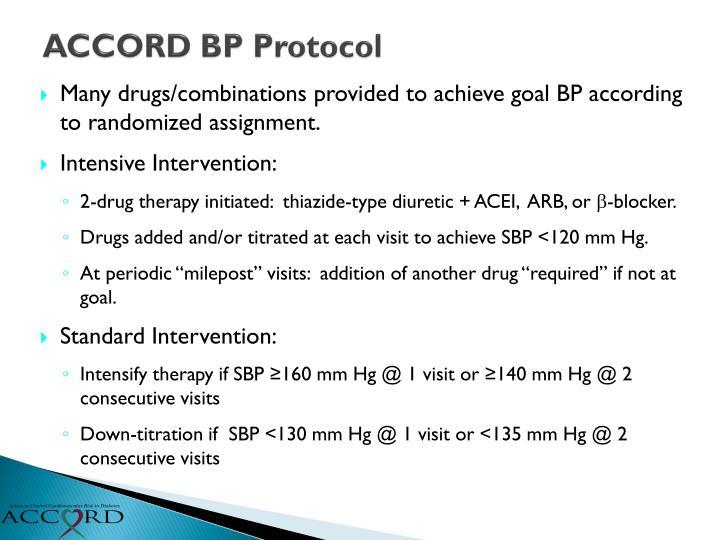ACCORD BP Protocol