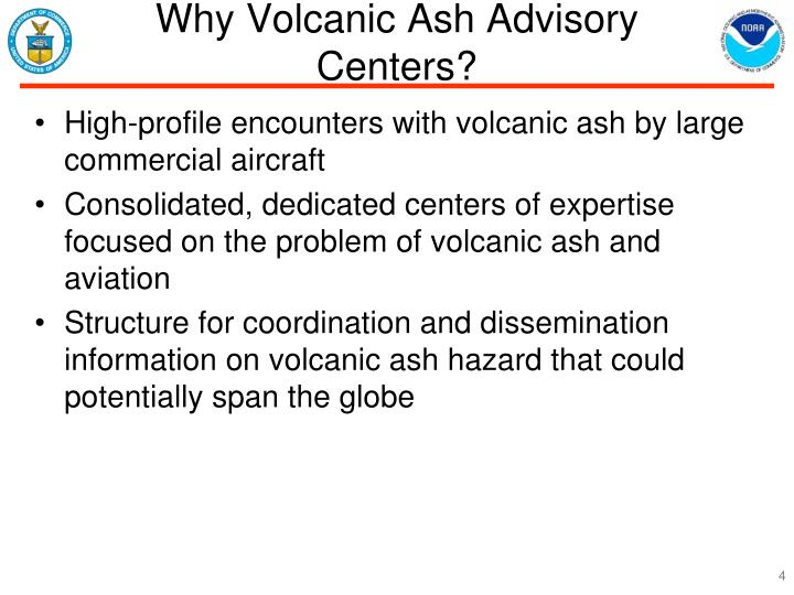 Why Volcanic Ash Advisory Centers?