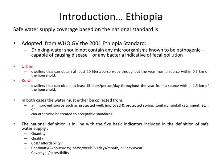 Introduction… Ethiopia