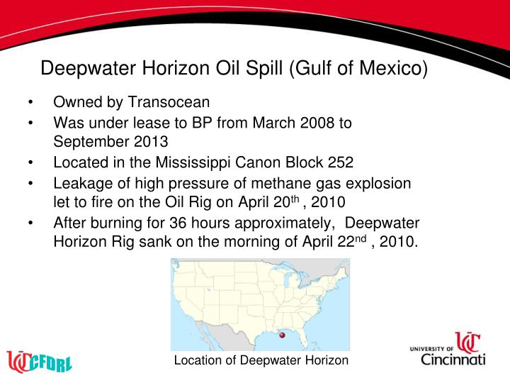 Deepwater Horizon Oil