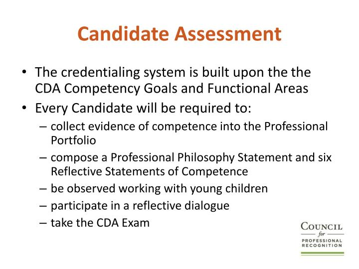 Candidate Assessment