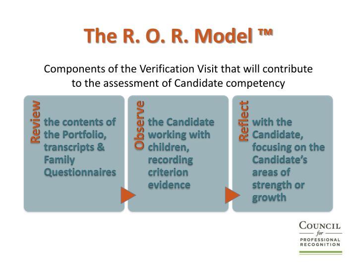 The R. O. R. Model ™
