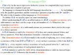the language of cl4