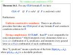 the soundness and completeness of cl4