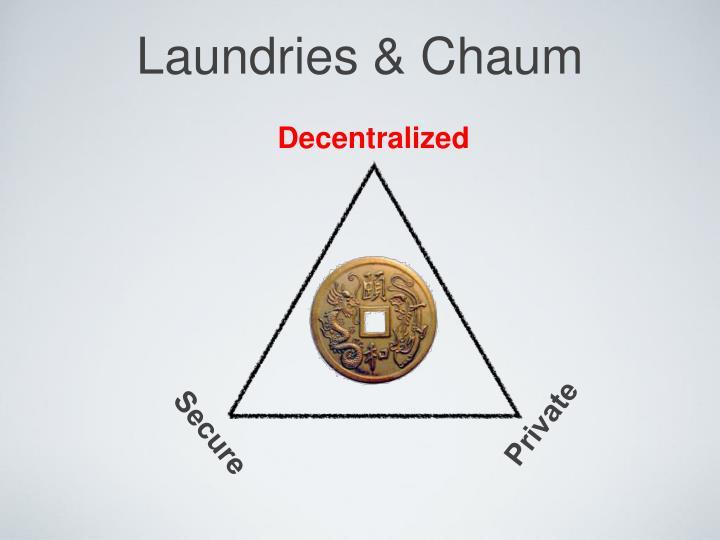 Laundries & Chaum