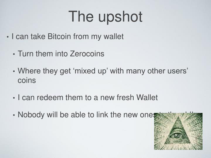 The upshot