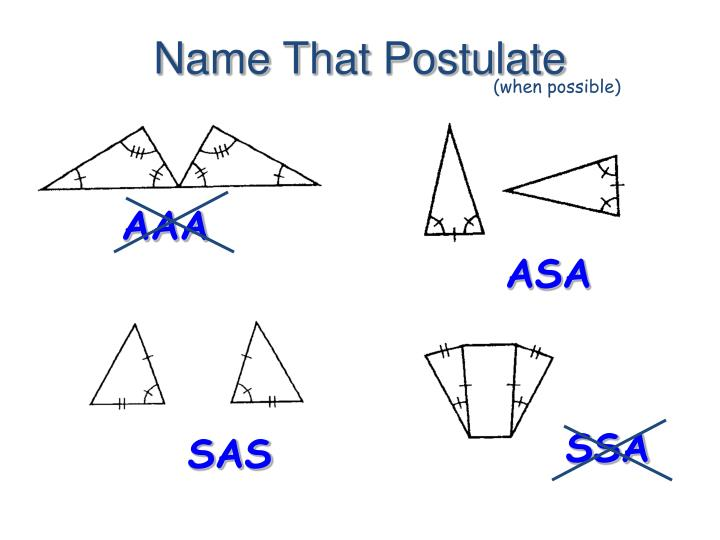 Name That Postulate