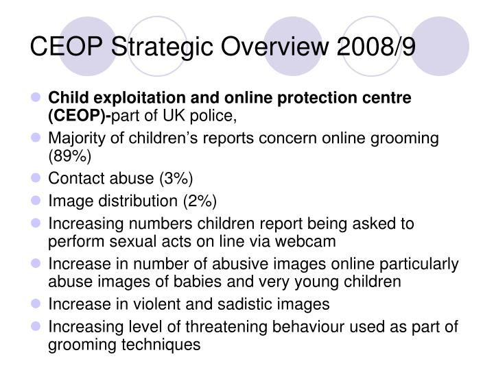 CEOP Strategic Overview 2008/9