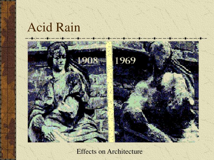 Effects on Architecture