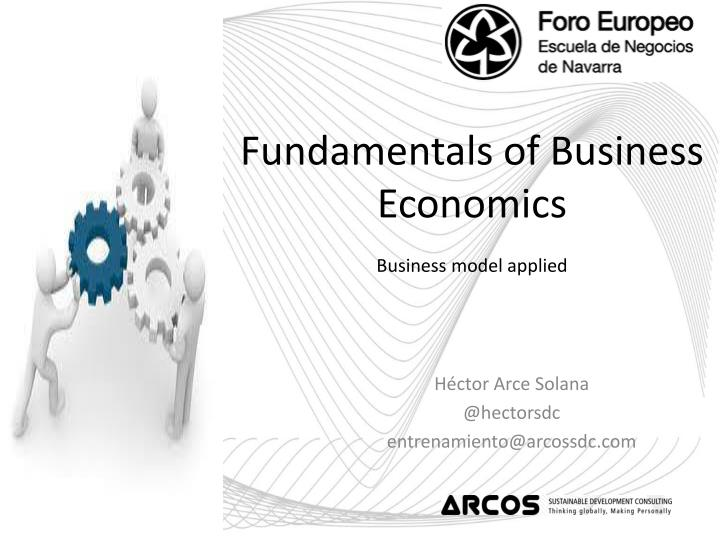 Fundamentals of Business Economics