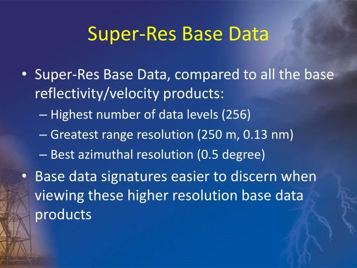 Super-Res Base