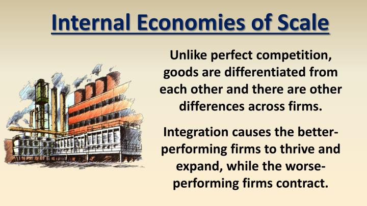 Internal Economies of Scale